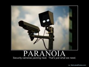 paranoia- cctv