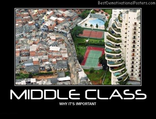 Middle class australia